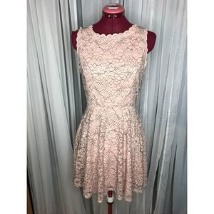 Lilly Rose fit and flare lace dress